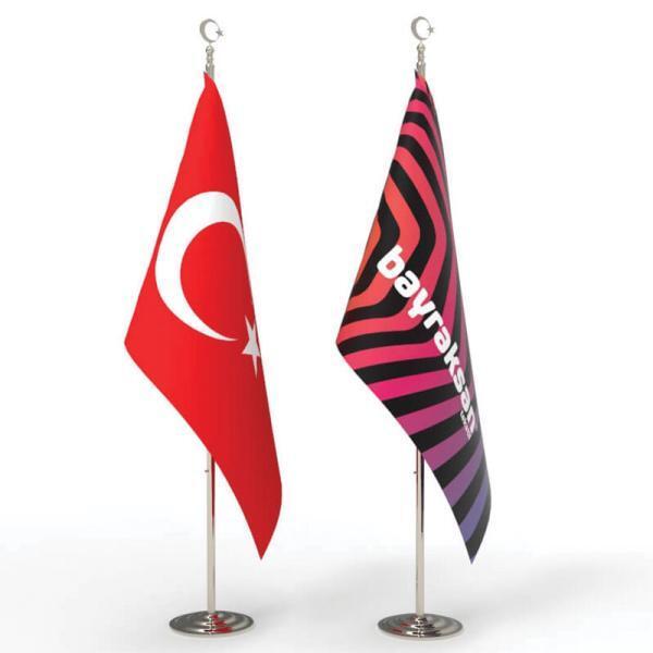 türk makam bayrağı,Makam Bayrağı,Logolu Makam Bayrağı,Makam Bayrağı İmalatı,Makam Bayrağı Fiyatları,Telalı Makam Bayrağı